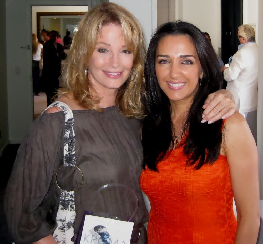 Pre Emmys with Soap Opera star Deidre Hall.