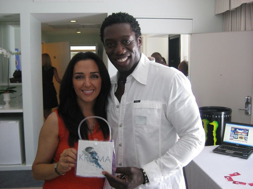 Hakeem Kae-kazim, actor who portrayed a villain in the show 24.