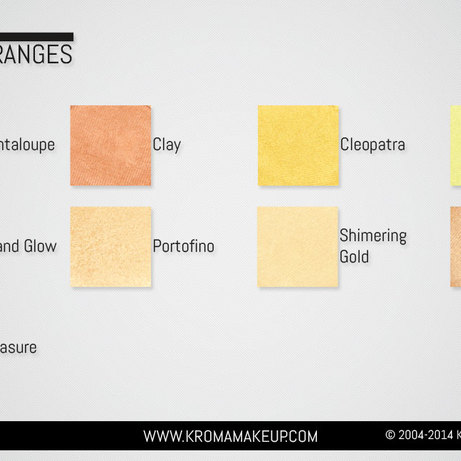 Yellows Oranges