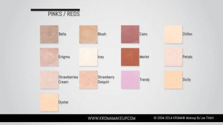Pinks Reds