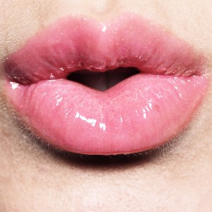 Cotton Candy Lip Gloss worn by model